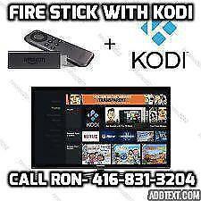 Amazon Fire Stick & Amazon Fire TV brand new like Android box kodi16.1 Ajax Whitby pick up