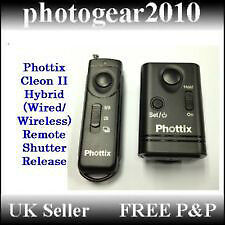 Phottix WRC-C8 Wireless Remote Control Canon DSLRs etc. New  bat