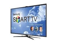 """60""""samsung smart tv,need quick sale. £600 price is negotiable."""