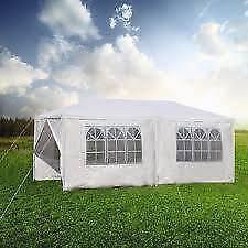 New White Gazebo Outdoor Party Tent 3m x 6m - 130 - Bonbeach!!
