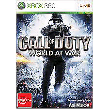 WANTED: CALL OF DUTY: WORLD AT WAR XBOX360