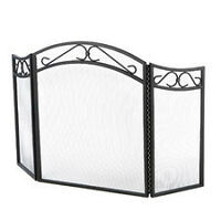NEW Wrought Iron Fireplace Screen with class