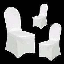 Elastic wedding chair cover plus ribbon