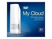 My cloud 2TB Western Digital