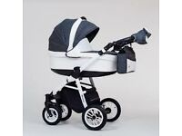*Brand new*complete travel system (pram, puschair, car seat) MAXIMO ECO