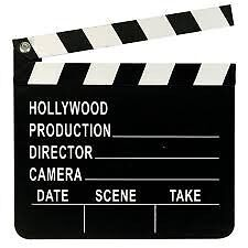 Hollywood Movie Director's Clap board, Clapper Clapboard