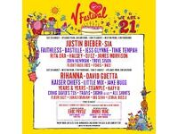 V FESTIVAL 2016 WEEKEND RED CAMP £180 ONO (HYLANDS PARK - CHELMSFORD) 19TH-22ND OF AUGUST