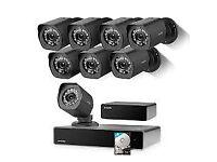 cctv camera kit hd hq 720p/1080p system dvr/nvr
