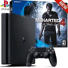 Brand new SONY Play Station 4 500 GB Uncharted 4