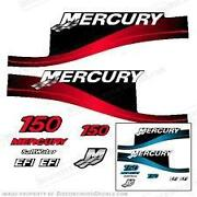 Mercury 150 HP Decals