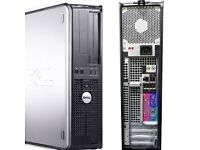 Dell optiplex 745 core2duo 500 gb 4gb