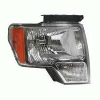 Passenger Side F150 Head Light 2009-2013  Factory OEM TakeOff