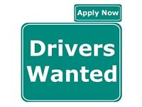 DRIVERS WANTED IN THURROCK, ENFIELD AND WEYBRIDGE
