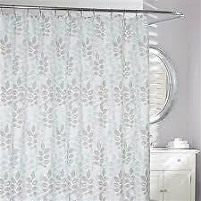 NEW DELANO SHOWER CURTAING 100% Microfibre Water repellent