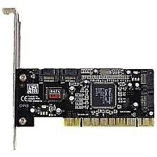 4 PORT PCI SATA RAID CARD SERIAL ATA ADAPTER CONTROLLER FOR SATA HDD SIL3114