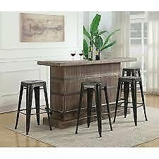 Dasilva Bar with Wine Storage  by Williston Forge ** AS IS **