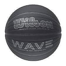 "Wilson Wave Carbon Fiber 29.5"" Basketball Black Sz"