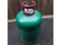 Calor patio gas bottle 3/4 full