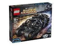 LEGO BATMAN TUMBLER NO.76023 NEW SEALED RETIRED SET
