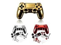Red Chrome PS4 Controller Shell