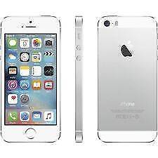 As NEW iPhone 5s Apple White Silver 16gb Phone only 3 months use