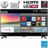 "40"" led tv 4k-lg-smart wifi-ultra hd-inbox-with warranty-$599.99"