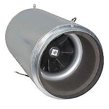 """USED - 12"""" Isomax Air Force 2 Acoustic Silent Fan 3260 m3/hr - Hydroponics"""