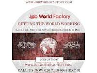 IS YOUR RENT DUE IN 3 DAYS? VISIT JOBWORLDFACTORY NOW!