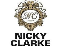 Models wanted at Nicky Clarke for colour/blowdry's- FREE OF CHARGE!