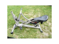 This Power Glide machine is in excellent working condition and uses your own weight for resitance