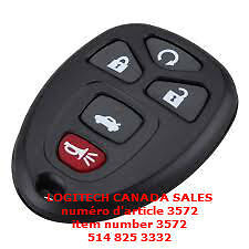 Remote Keyless Entry Chevy Buick OUC60270
