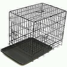Medium sized 2 door dog crate