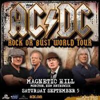 AC/DC Tickets and ACDC - PARKING  ( Magnetic Hill )