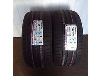 2. 255/35/19 tyres. Brand new