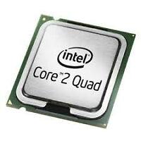 Intel Pentium 4 ; Core 2 Duo; Core 2 QUAD & AMD Phenom CPU [only