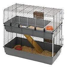2 level rabbit indoor rabbit hutch for sale