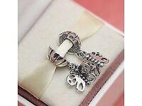 Genuine Pandora Best Friends Butterfly charm 790531