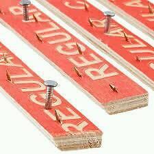 2 packs of carpet gripper rods. 100ft