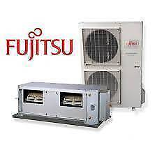 Fujitsu 12kw ducted a/c 6 outlet ,4 zone installed.after cashback Sinnamon Park Brisbane South West Preview