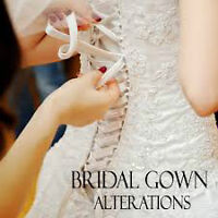 Experienced wedding gown seamstress available for alterations