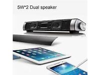 soundbar Bluetooth mp3 speaker can be linked to your phone laptop tablet handsfree call
