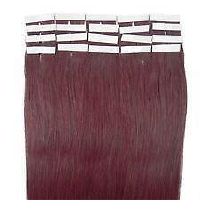 Red human hair extensions ebay red wine human hair extensions pmusecretfo Image collections
