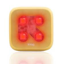 Knog Blinder Rear Light GOLD ARROW Red LED Track Fixed Road Safety