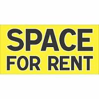 COMMERCIAL OFFICE SPACE FOR RENT OR STORAGE SPACE
