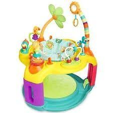 Baby bouncer: Bright Starts Springin Safari Bounce A Round