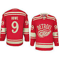 HOWE - DETROIT RED WINGS WINTER CLASSIC JERSEY