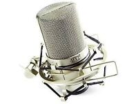 MXL 990 Condenser Microphone with Shockmount [Mint]