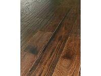 engineered oak flooring approx 10sq m