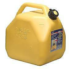 Scepter 20lt Squat Yellow Diesel Jerry Can