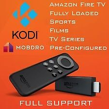 Amazon Fire Tv Stick Fully Loaded!! Every Movie Ever Made + All Sky Tv+ Free Home installation!
